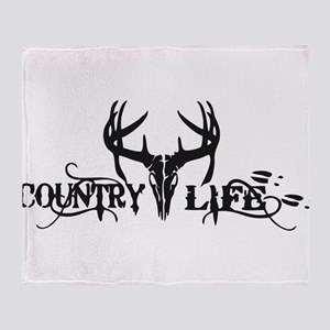 country life Throw Blanket